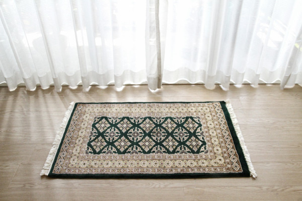 パキスタン緞通玄関マット P69-8455