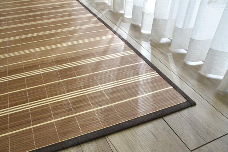 竹ラグ  ストリシア natural taste bamboo rug ブラウン