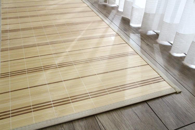 竹ラグ  ストリシア natural taste bamboo rug ナチュラル